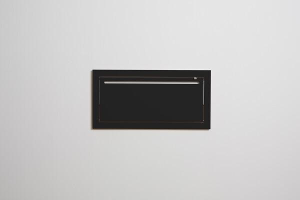 Fläpps Coat rack Hängrail - Black | AMBIVALENZ