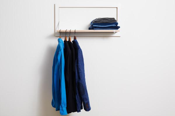 Fläpps Hängrail Coat rack - White | AMBIVALENZ