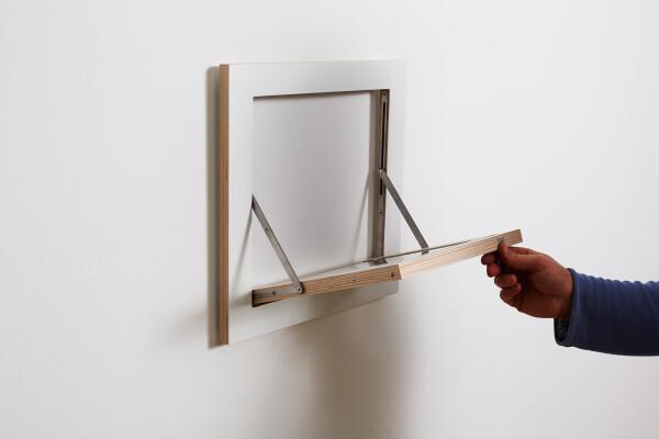 Fläpps Shelf 40x40x1 - White   AMBIVALENZ