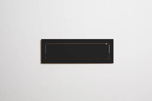 Fläpps shelf 80x27x1 - black   AMBIVALENZ