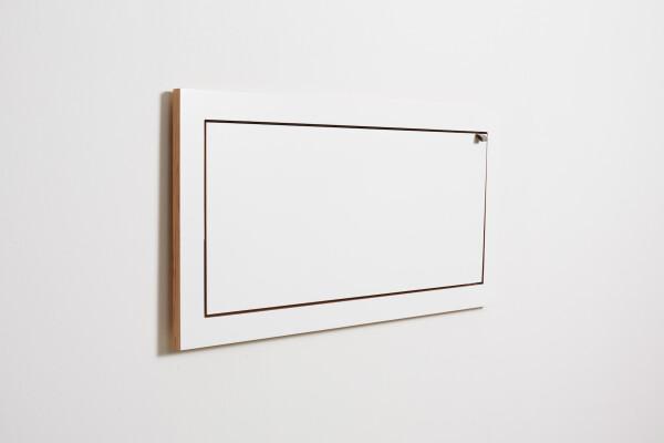 Fläpps shelf - 80x40x1 - White | AMBIVALENZ