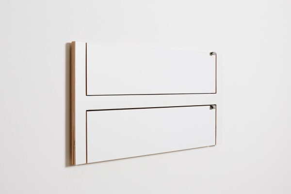 Fläpps Shelf 80x40x2 - White | AMBIVALENZ