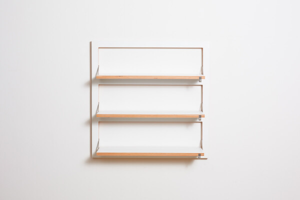 Fläpps shelf 80x80x3 - white | AMBIVALENZ