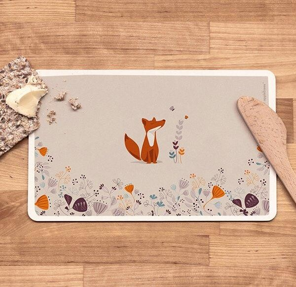 Breakfast platter with fox | buchenblau®