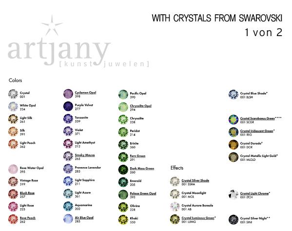 Artjany earplugs all colors silver | artjany - Kunstjuwelen