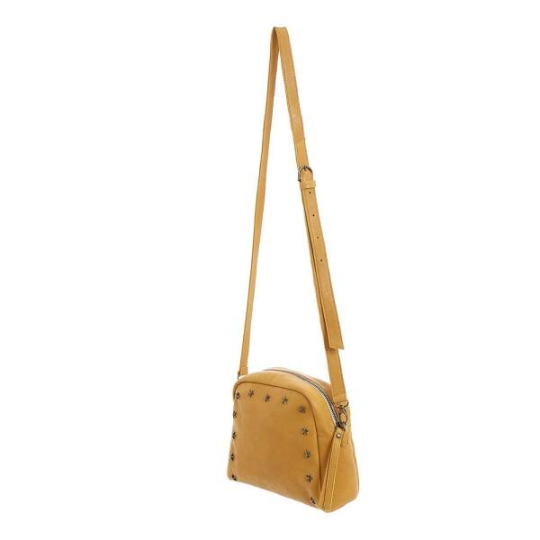 Leather shoulder bag with metallic stars | JUAN-JO gallery