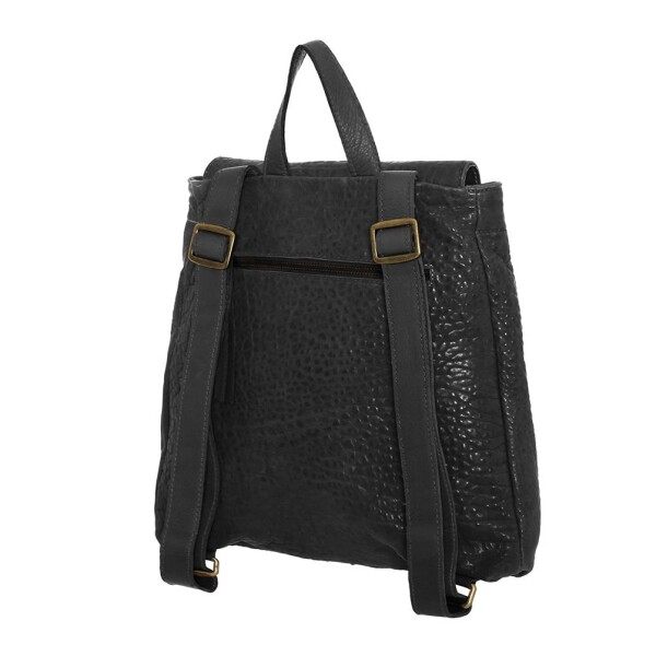 Black Leather Backpack Oslo | JUAN-JO gallery