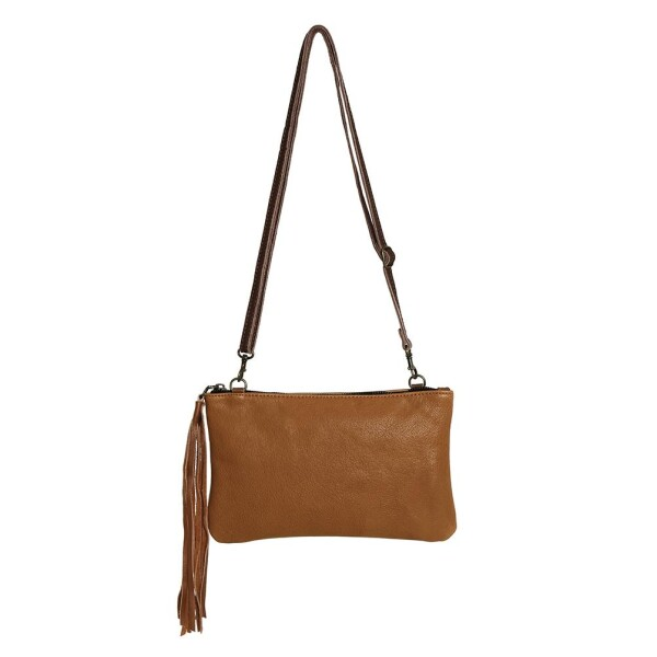 Light Brown Leather Handbag Carolina | JUAN-JO gallery
