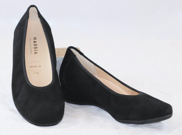 Hassia slippers comfortable Petra G black | Schau Fuss Leipzig