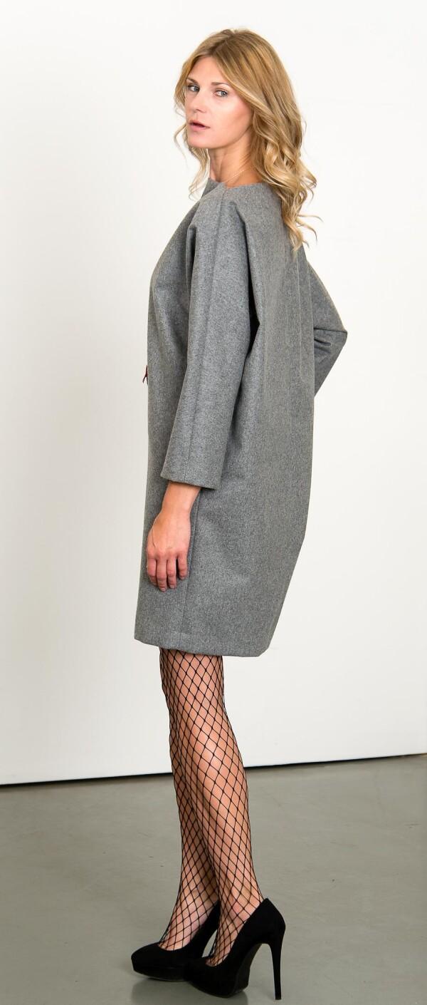 Gray boxing dress | L - GABRIELLE
