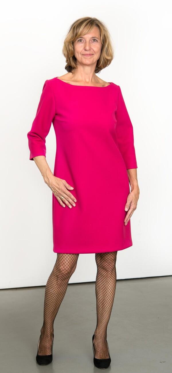 Pink sheath dress   L - GABRIELLE