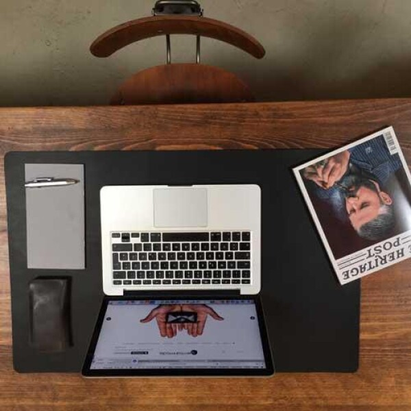 Desk pad leather | germanmade