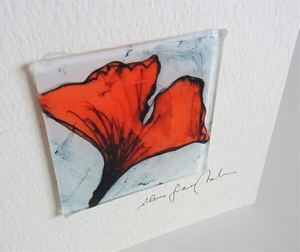 Artist Card Ginko Orange Edition | Design Elena