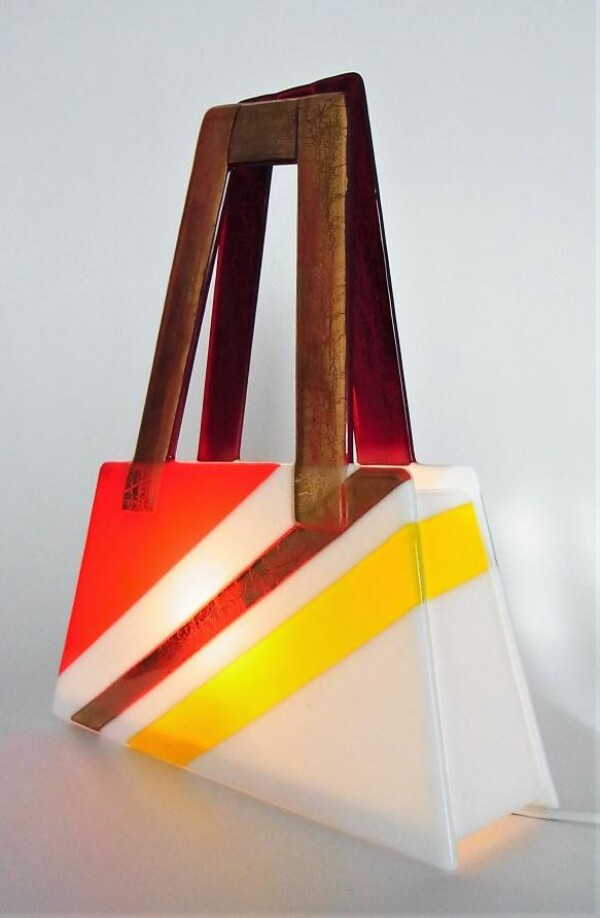Golden Carrier Light Object | Design Elena