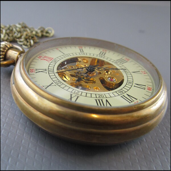 Great teatime - mechanical pocket watch | Carol and Me