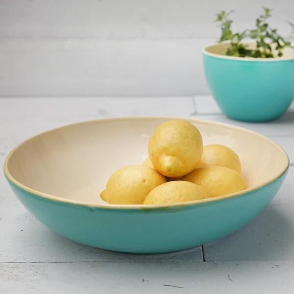 Green & shape ceramic bowls | Das Lädchen