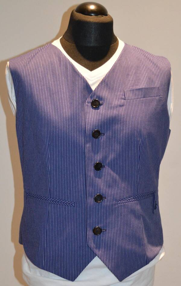 Tiny blue vest mens | Winzerblau