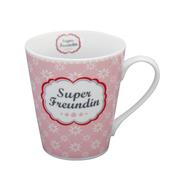 SUPER FRIEND Mug coffee mug with handle | WohnGlanzVilla