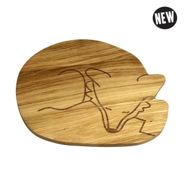 Fuchs wooden plate The Zoo | das goodshaus