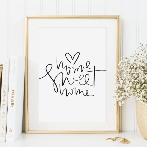 Tales by Jen Art Print: Home sweet home | Tales by Jen