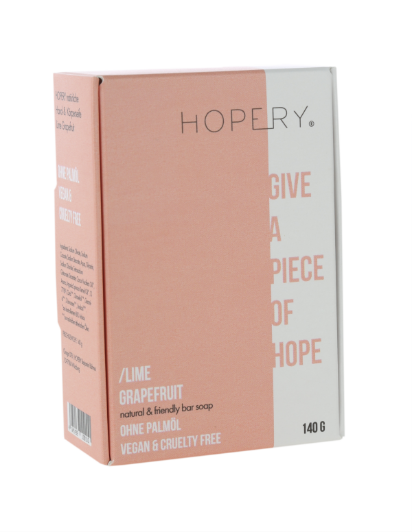 Palm oil free soap from Hopery Lime-Grapefruit | Herzberg