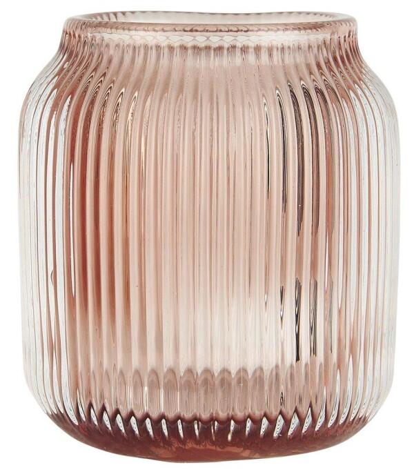 IB Laursen tealight holder made of glass | Nordic Home