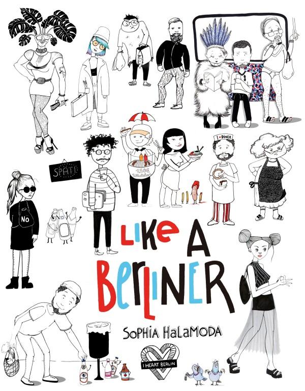 iHeartBerlin Like A Berlin Book by Sophia Halamoda | Market Lifestore Bikini Box