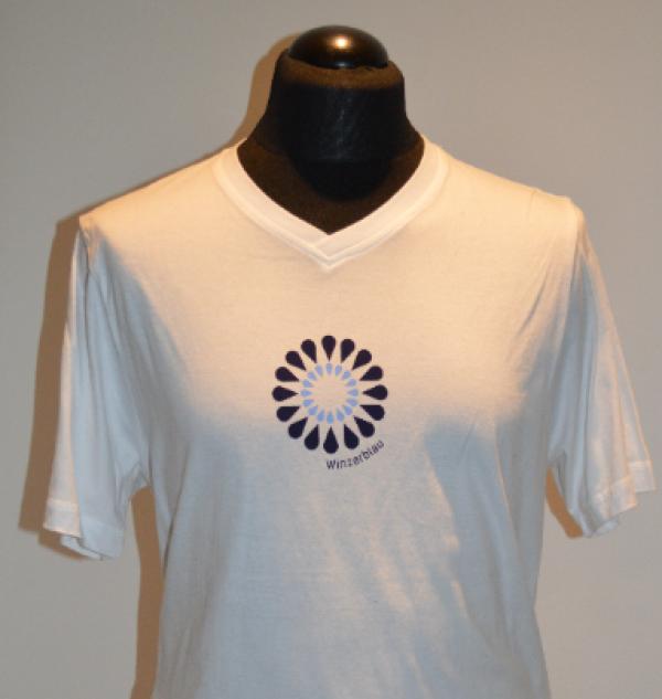Tiny blue T-shirt men's | Winzerblau