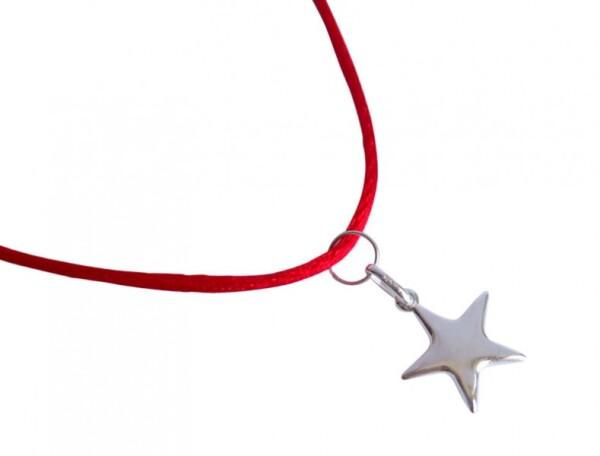 Necklace 925 silver star 15 mm | Gemshine Schmuck