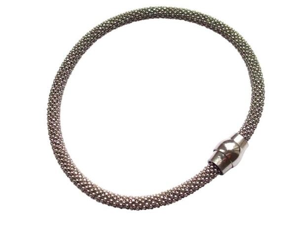 Bracelet 925 silver rhodium plated | Gemshine Schmuck