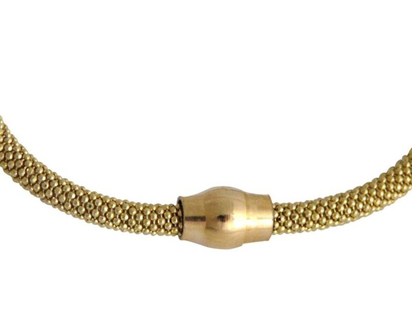 Bracelet 925 Silver Gilded   Gemshine Schmuck