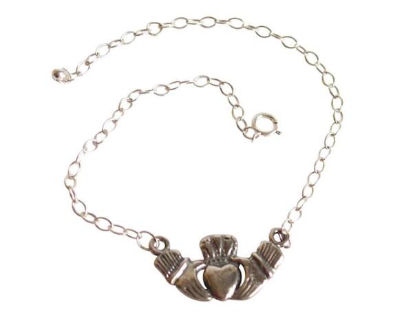 Bracelet Claddagh 925 silver | Gemshine Schmuck