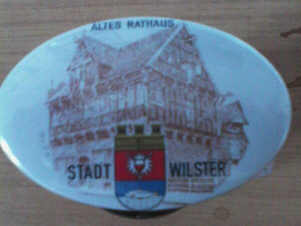 Magnet including bottle opener with Wilster motif from the old town hall   Haack am Markt