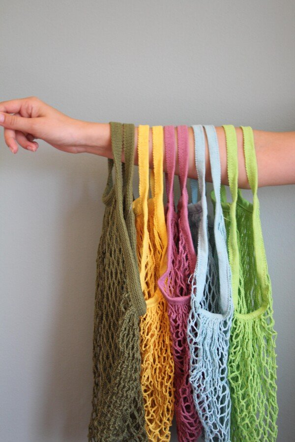Carrying bag shopping net | Imkerei Nengel