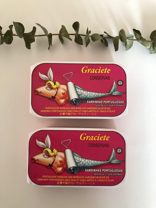 Portuguese Skinless and Boneless Sardines in Olive Oil - Graciete | Loja PortugueZa da Baixa
