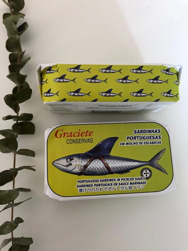Portuguese Sardines in Pickled Sauce - Graciete | Loja PortugueZa da Baixa