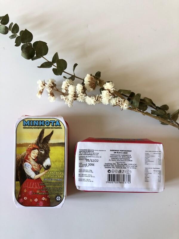 Portuguese Sardines in Oil and Lemon - Minhota | Loja PortugueZa da Baixa