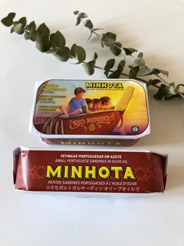 Small Portuguese Sardines in Olive Oil - Minhota | Loja PortugueZa da Baixa