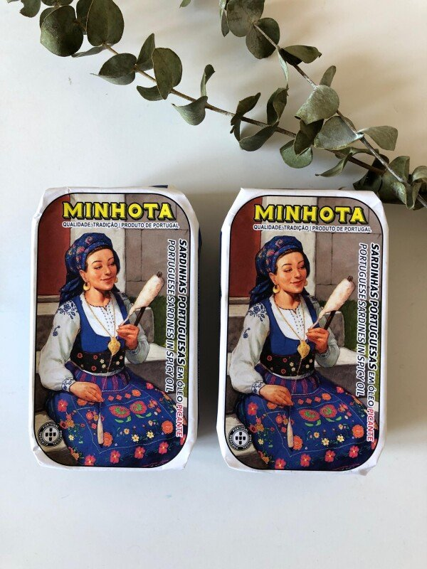 Portuguese Sardines in Spicy Oil - Minhota | Loja PortugueZa da Baixa