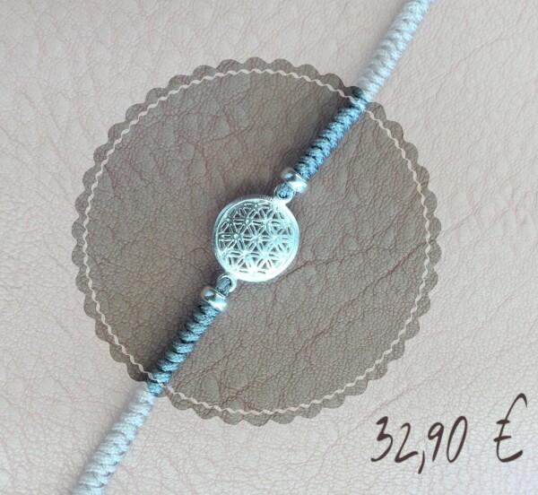 Life flower bracelet 925 Silver | Goldschmiede Buhlheller