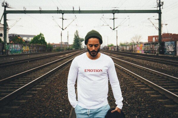 GMC Longsleeve EMOTION white / bordeaux | Magasin 2