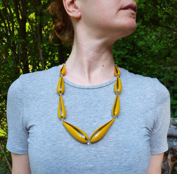 Murano Glass Blown Necklace