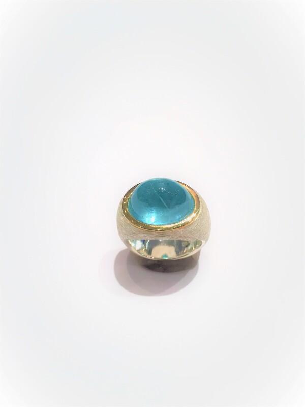 3272 aquamarine cone | catya fine arts