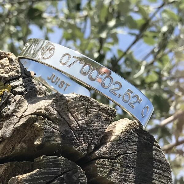 JUIST Coordinate Arm Bracelets Silver plated   ANCRAGE