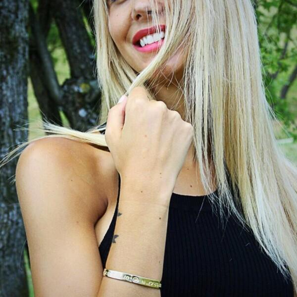 JUIST Coordinate Arm Bracelets rose gold plated | ANCRAGE