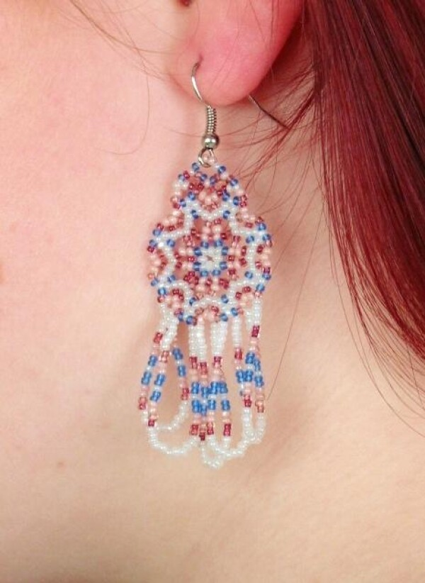 Pearl earrings | COTOPAXI Moccasins & Ponchos