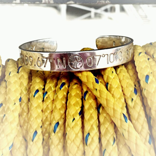 NORDERNEY Coordinate Arm Bracelets rose gold plated   ANCRAGE