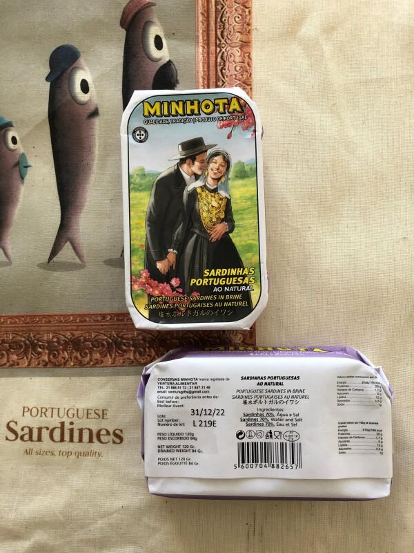 Portuguese Sardines in Brine - Minhota | Loja PortugueZa da Baixa