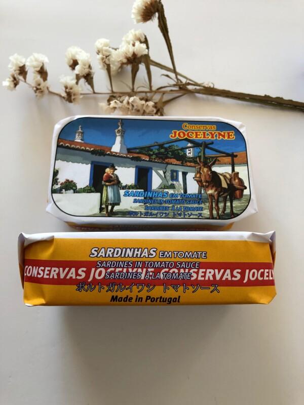 Sardines with Tomato Sauce - Jocelyne | Loja PortugueZa da Baixa