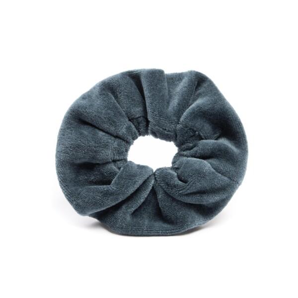 soki scrunchie made of organic cotton in sea blue | soki Kassel